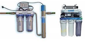 Система водоочистки с уф-фильтрацией