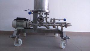 Кваспром. Машина холодного охмеления пива
