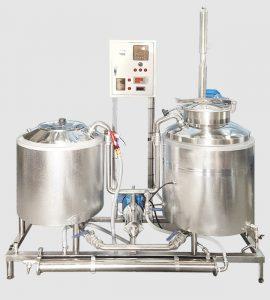 Пивоварня 125л за варку. Кваспром