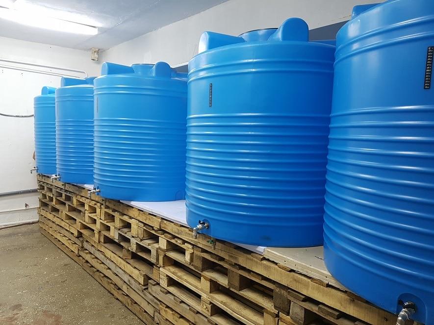 Емкость для брожения пластик 1000л